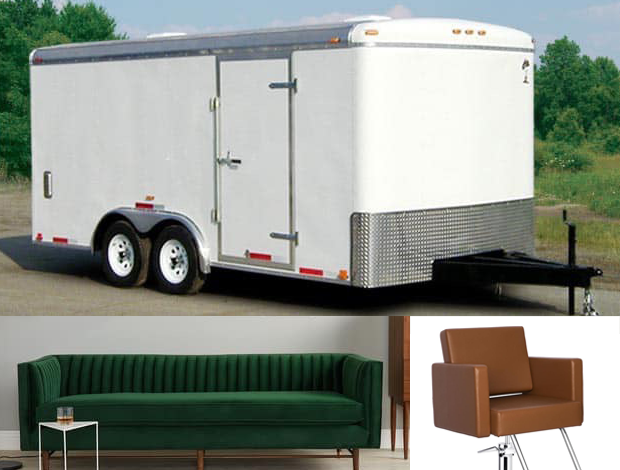 Trailer stolen from HABA's new North Liberty location
