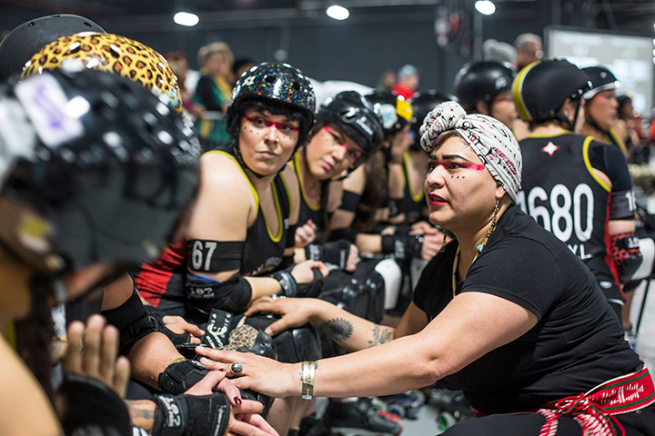 Team Indigenous educates through roller derby