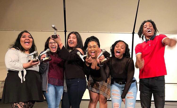 "Teens ""shatter the silence"" with spoken word"