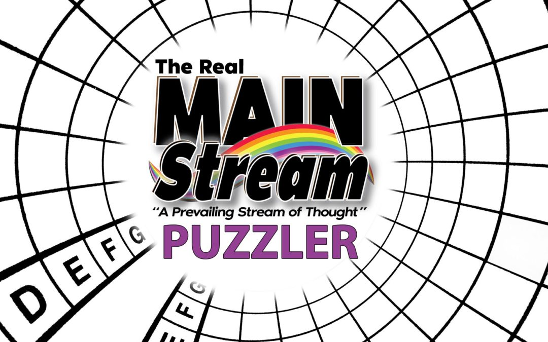 NEW: The Real MainStream Puzzler