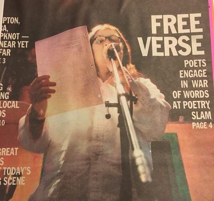 Slam poetry in Iowa born 19 years ago