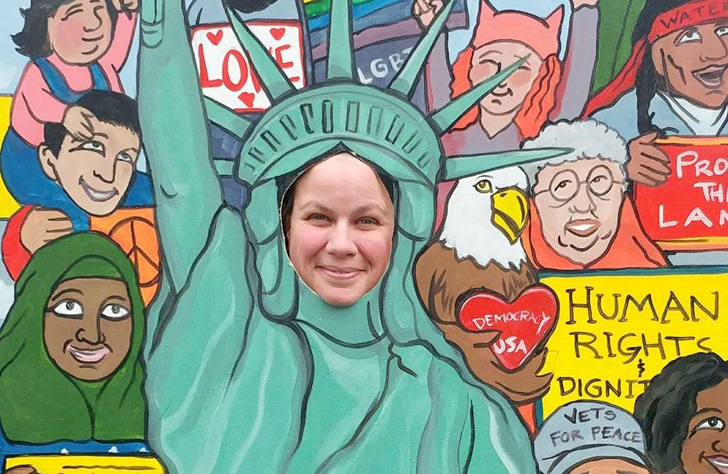 Artist helps fuel political awakening in SW Iowa