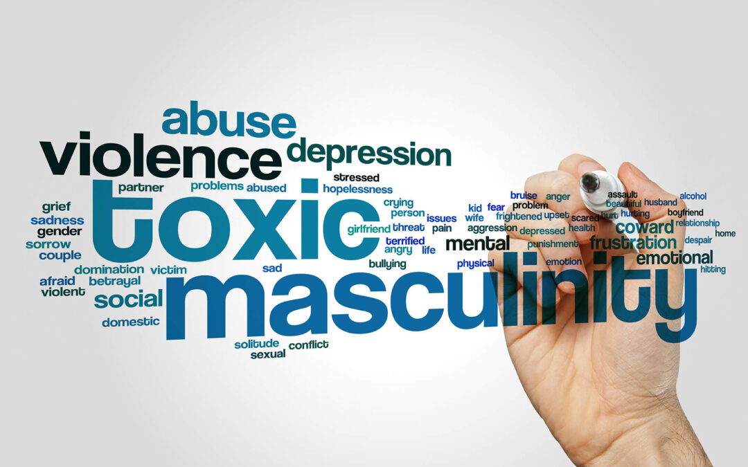 Toxic masculinity can affect victims, too