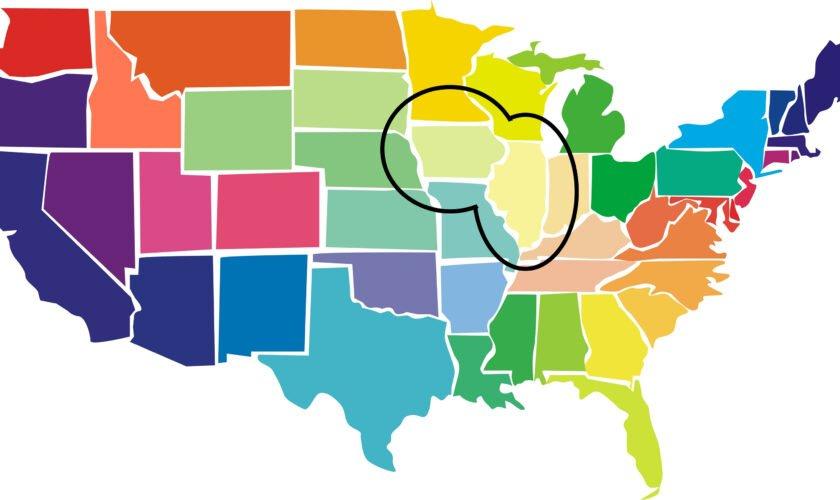 united states iowa illinois
