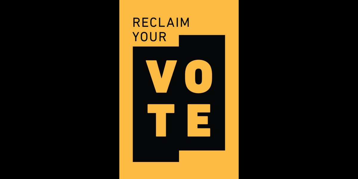 072620 news reclaim your vote logo