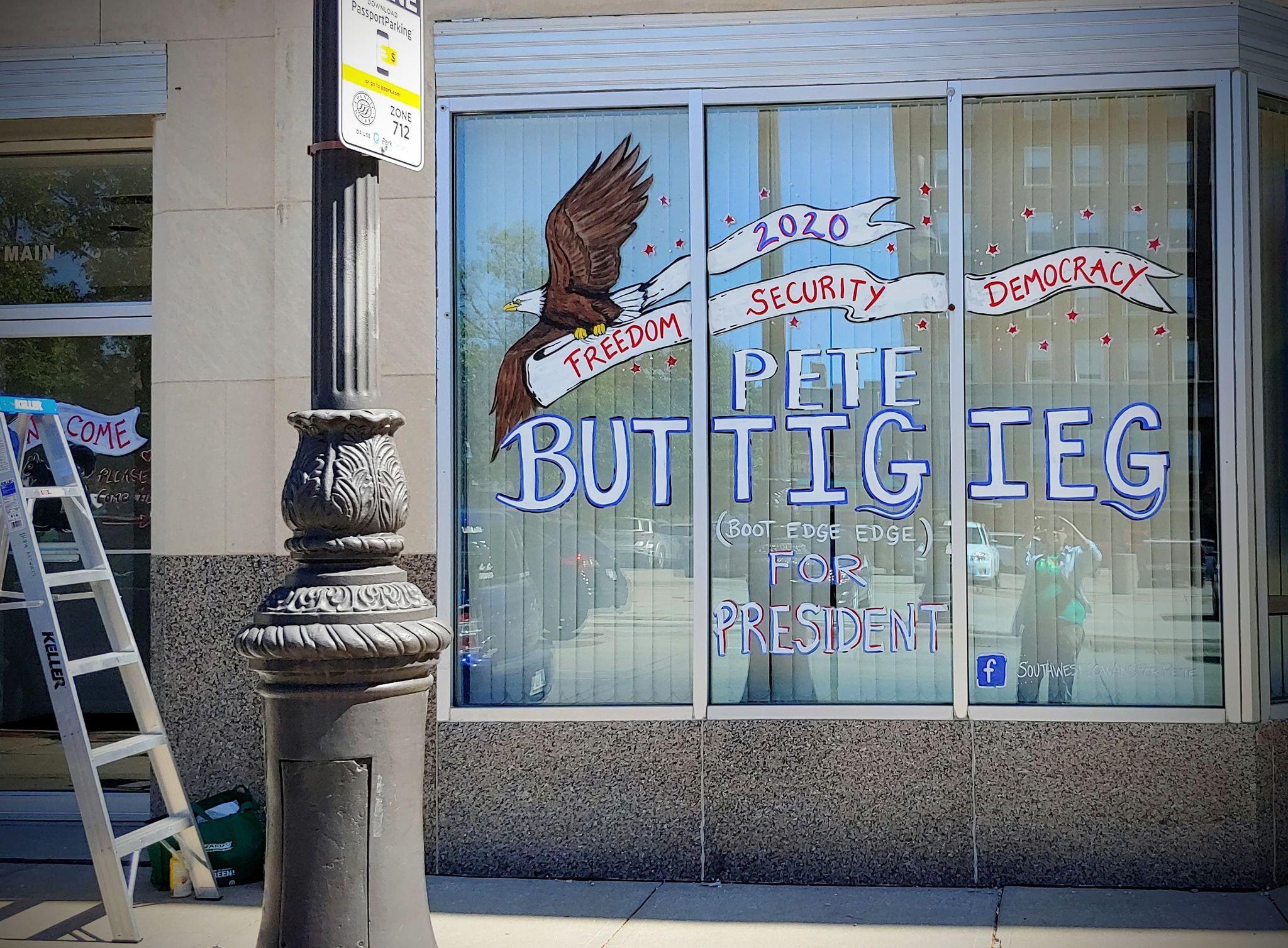 buttigieg window