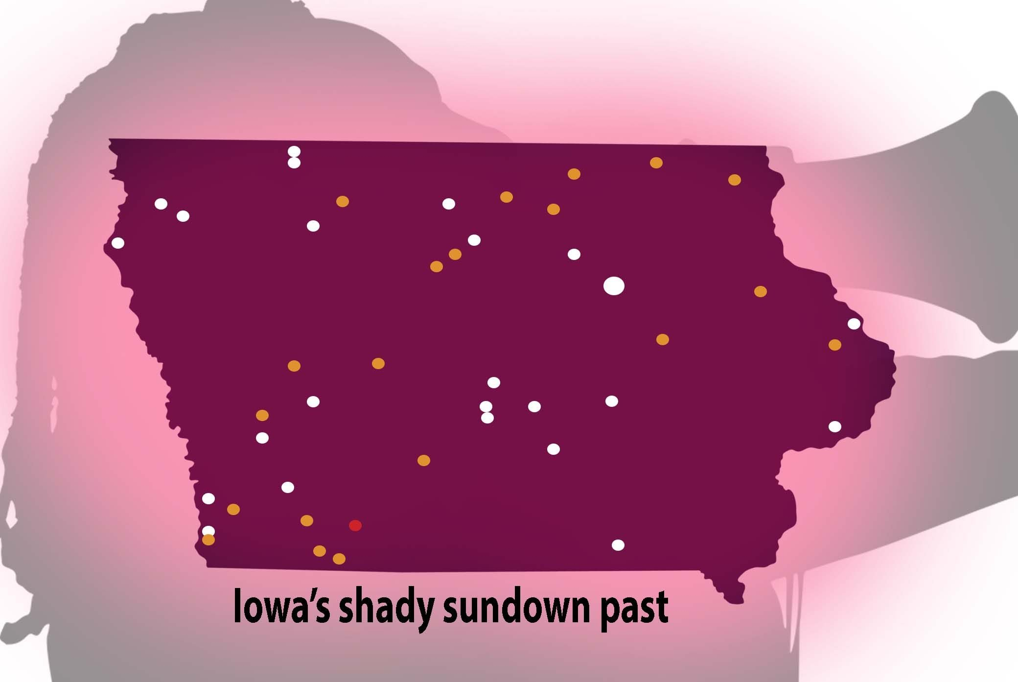 sundown towns iowa