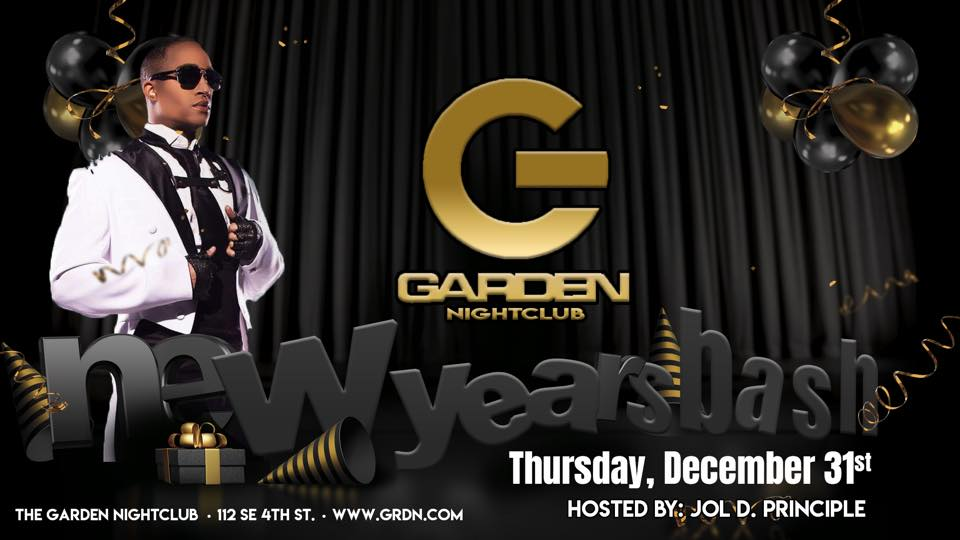 The Garden Nightclub New Year's Eve