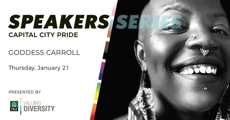 Capital City Pride speaker series