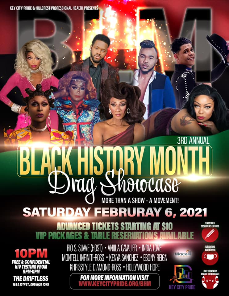 Key City Pride Black History Month