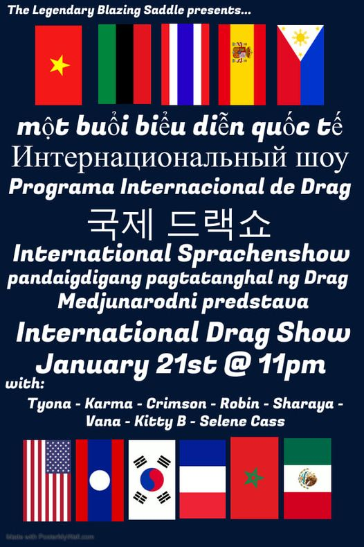 International Drag Show