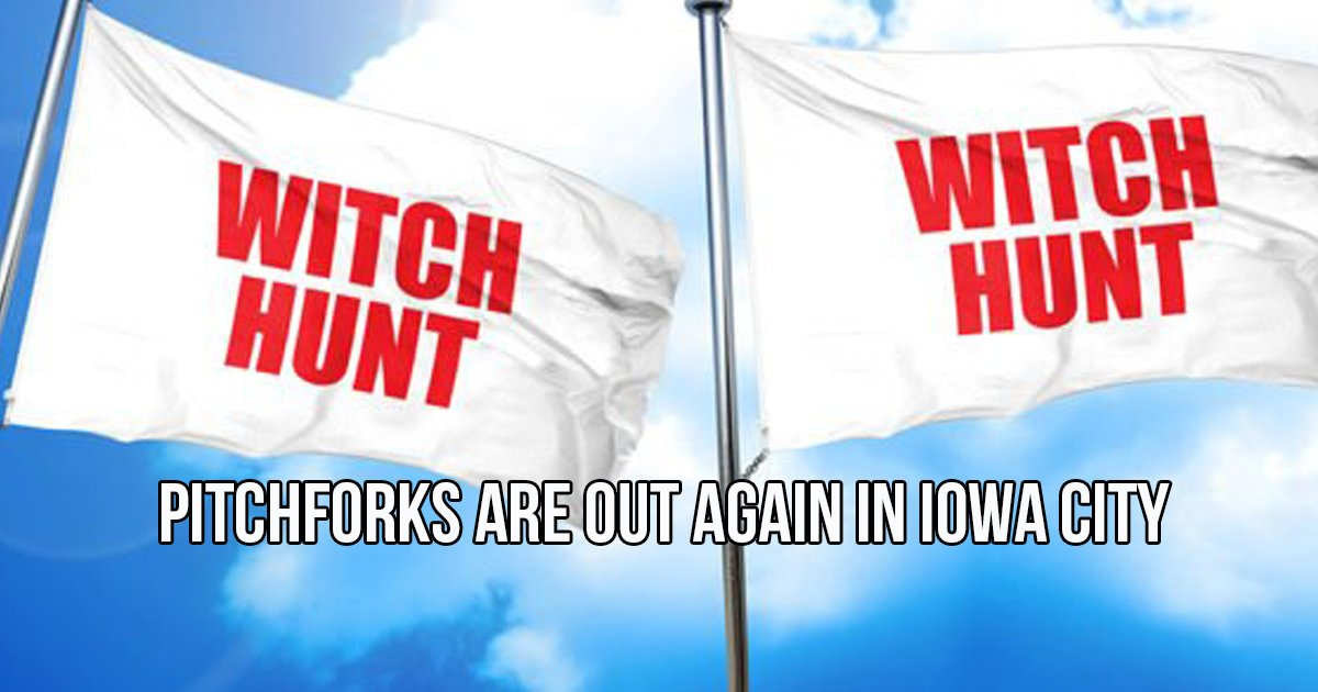 Iowa City Witch Hunt