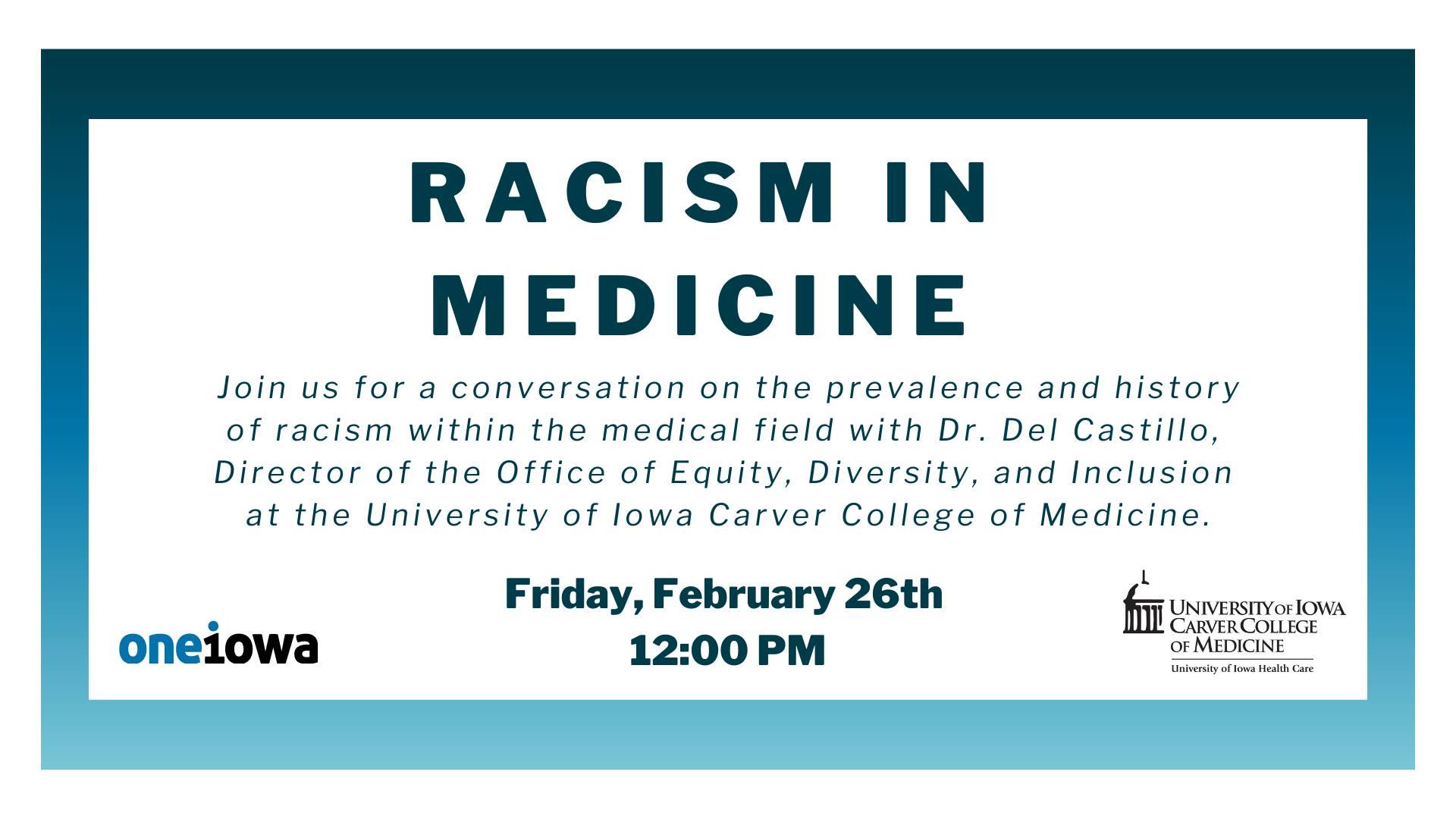 Racism in Medicine