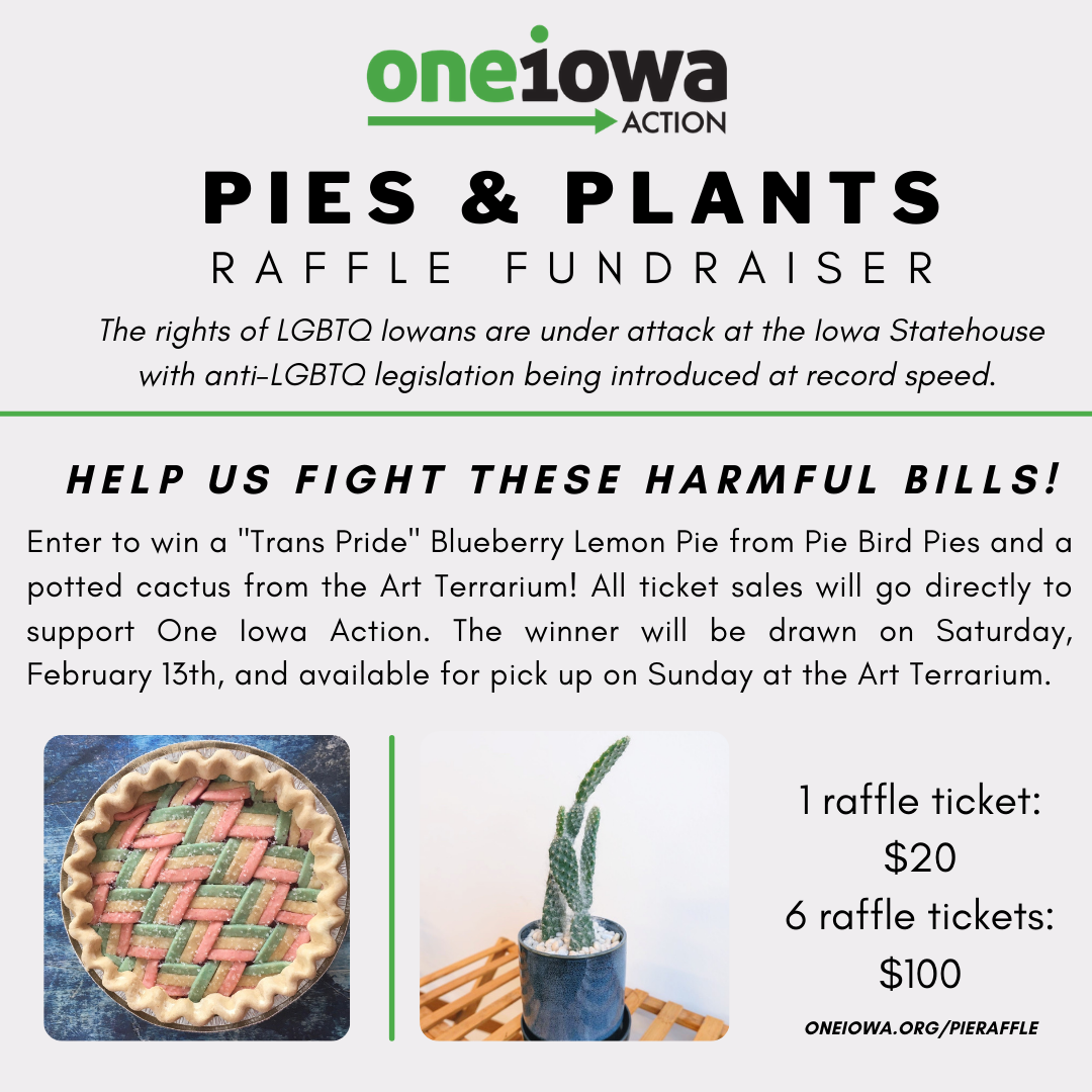 One Iowa Action Pies and Plants Insta 2 1