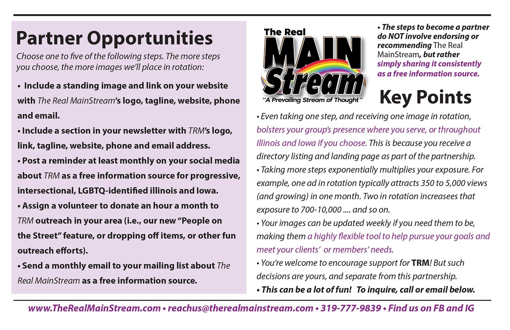 TRM Community Partners Page 2