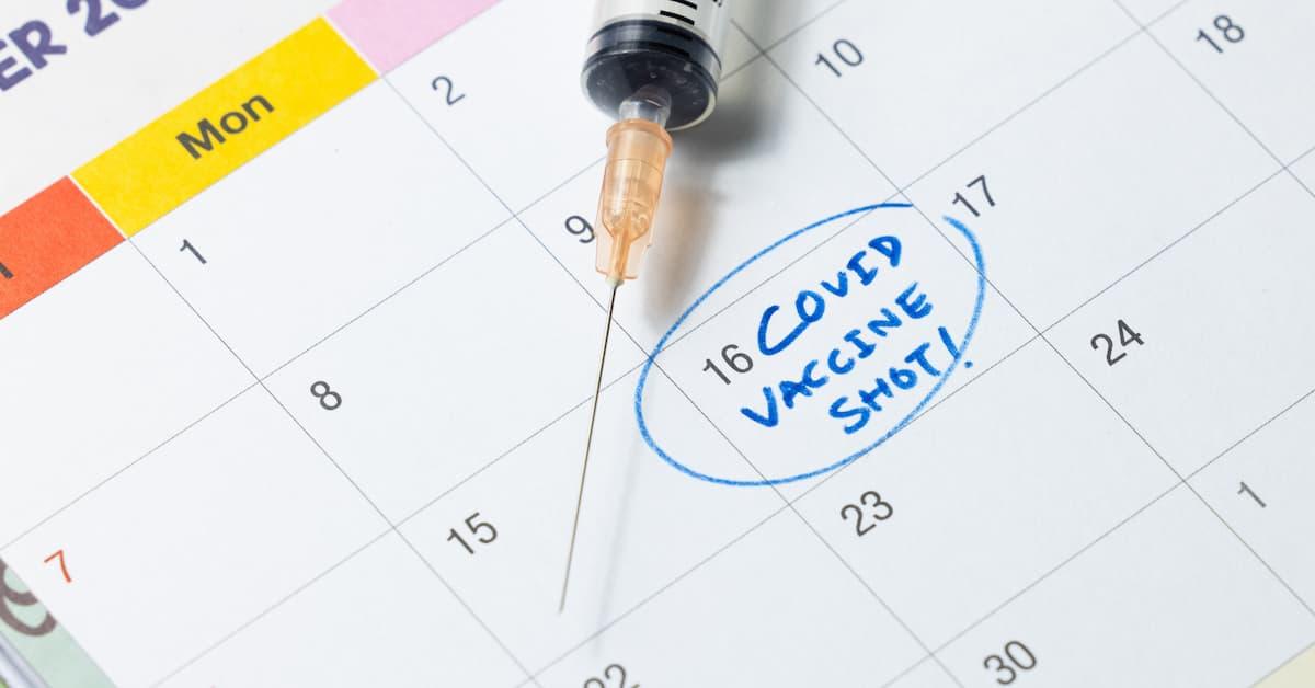 covid vax shot 1