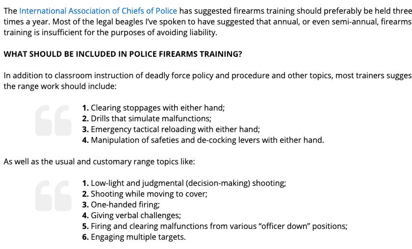 firearms training bullets