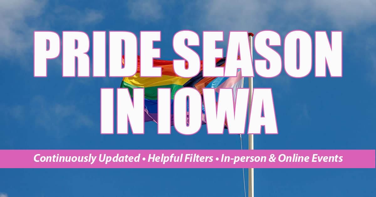 iowa pride events 2