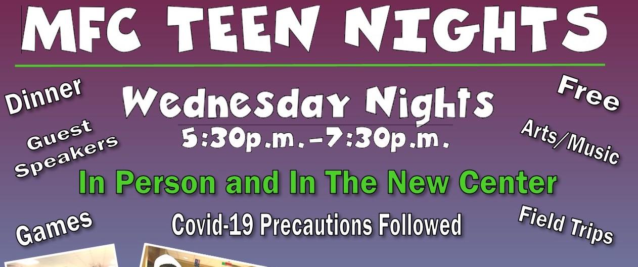 MFC Teen Nights 2021 Winter.Spring 2