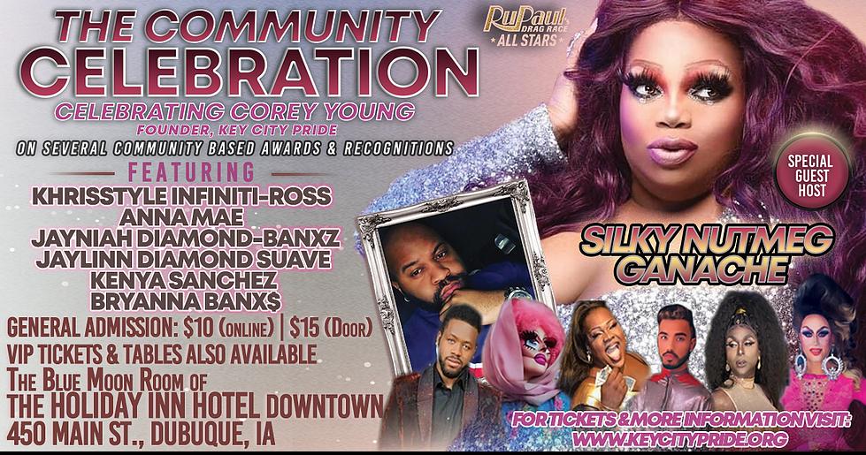 The Community Celebration by Key City Pride Sept. 18