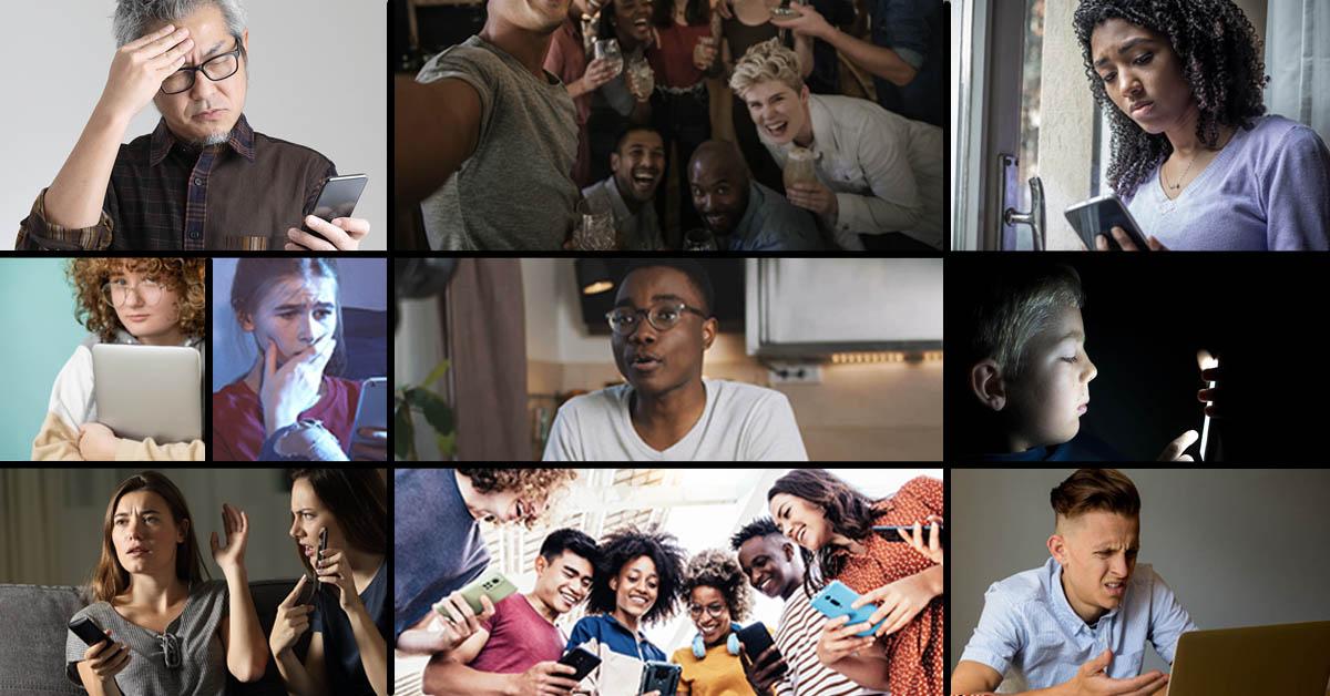 Negative impacts of social media