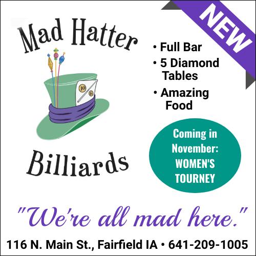 Mad Hatter Billiards