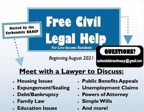 Free Civil Legal Help Carbondale NAACP
