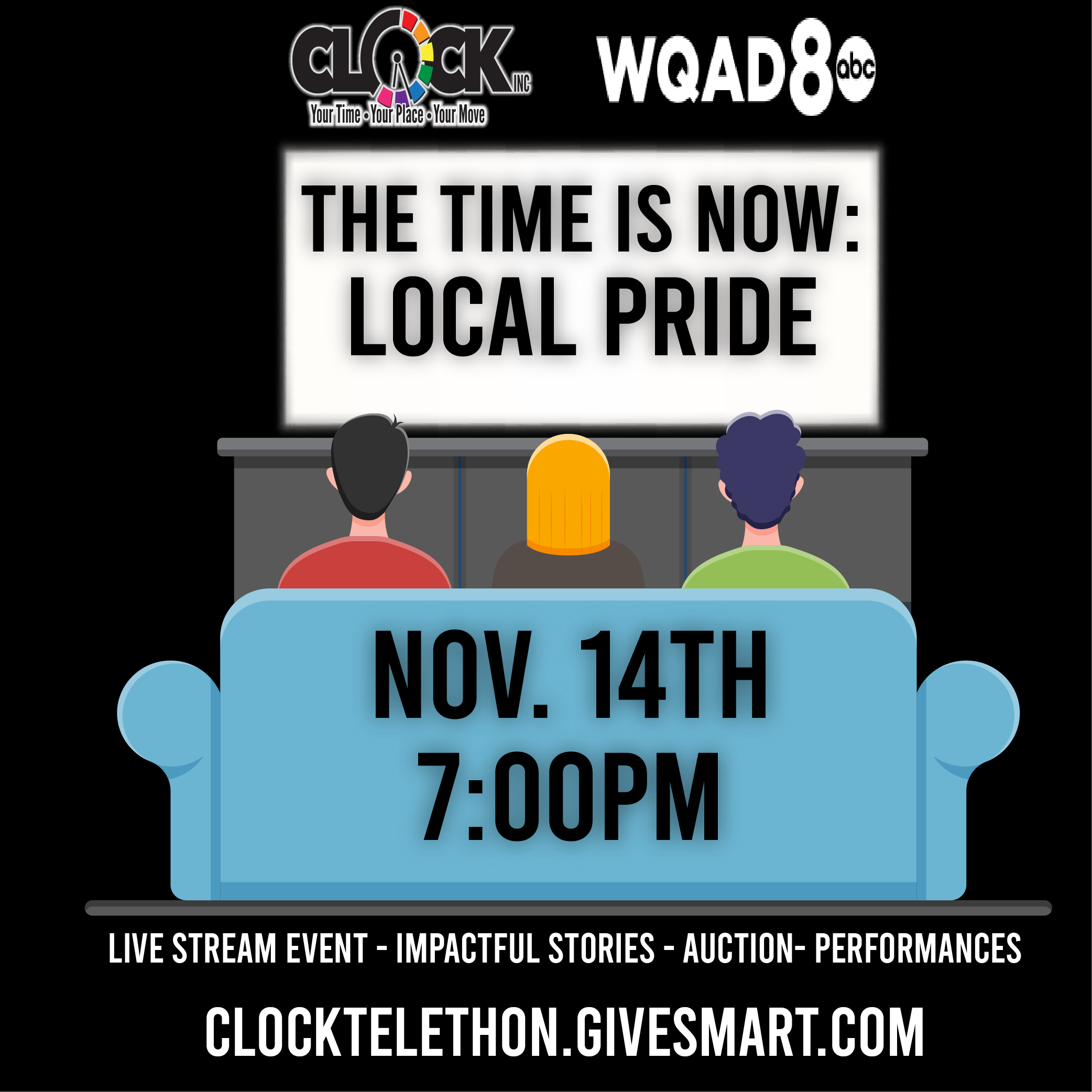 Local Pride for Clock Inc